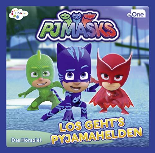 PJ Masks - Los Geht'S Pyjamahelden-das CD Hörspiel
