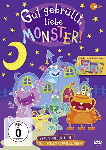 DVD - Gut Gebrüllt, Liebe Monster! Teil 1 (Folgen 01 - 13)