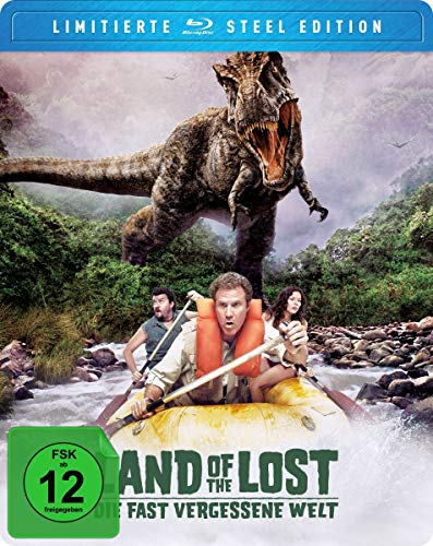 Blu-ray - Land Of The Lost - Die fast vergessene Welt (Limited Steebook Edition)