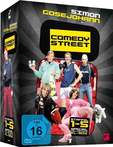 - Comedy Street - Staffel 1-5 (6, Discs, XL Collector's Box)