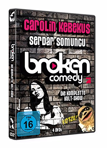 DVD - Broken Comedy - Die komplette Kult Show