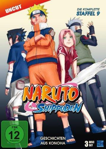 DVD - Naruto Shippuden - Staffel 9: Geschichten aus Konoha, Episoden 396-416 (uncut) [3 DVDs]