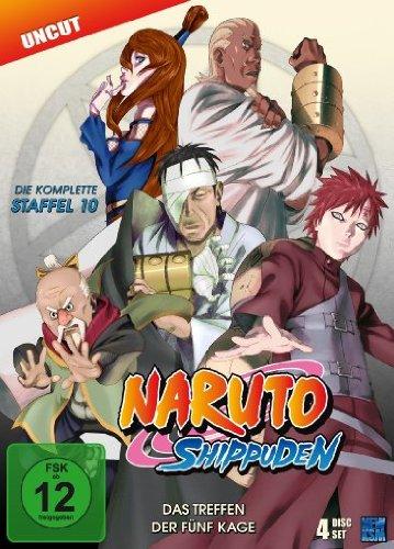DVD - Naruto Shippuden - Staffel 10
