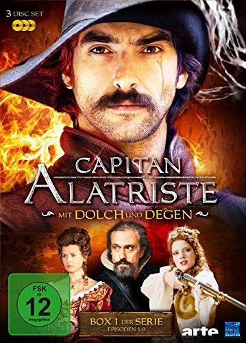 DVD - Capitan Alatriste - Mit Dolch und Degen - Box 1 (Folge 1 - 9)