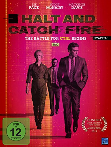 DVD - Halt and Catch Fire – The Battle For CRTL Begins - Staffel 1