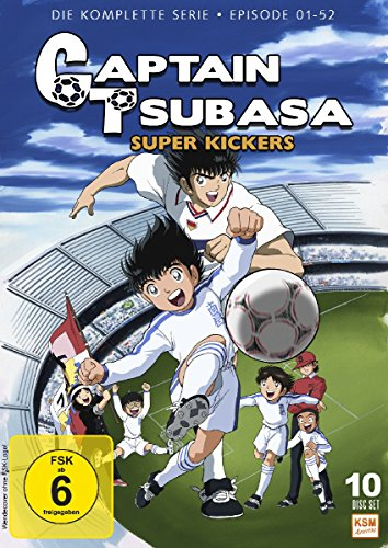 DVD - Captain Tsubasa - Super Kickers - Die komplette Serie