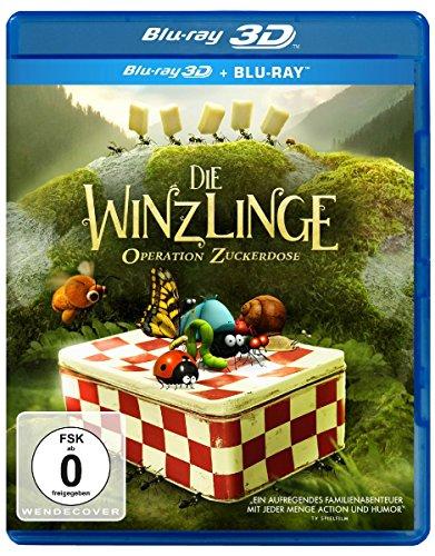 Blu-ray - Die Winzlinge: Operation Zuckerdose 3D ( Blu-ray)