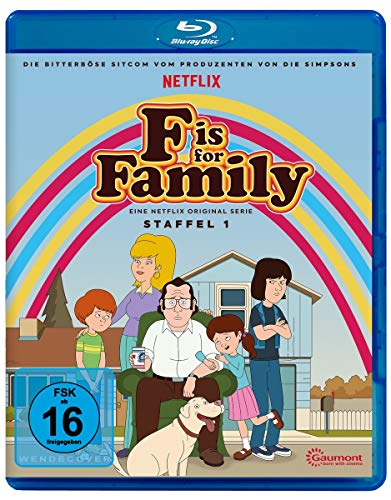 Blu-ray - F is for Family - Staffel 1