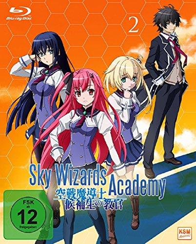 Blu-ray - Sky Wizards Academy 2 (Episoden 7 - 12   OVA Lecty, die Tierpflegerin)