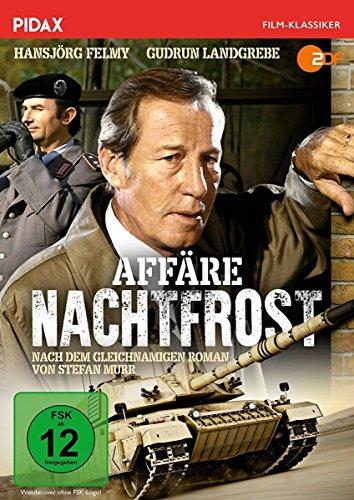 DVD - Affäre Nachtfrost / Packender Agententhriller mit Hansjörg Felmy und Gudrun Landgrebe nach dem gleichnamigen Bestseller (Pidax Film-Klassiker)