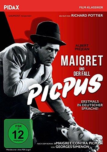 DVD - Maigret und der Fall Picpus (Pidax Film-Klassiker)