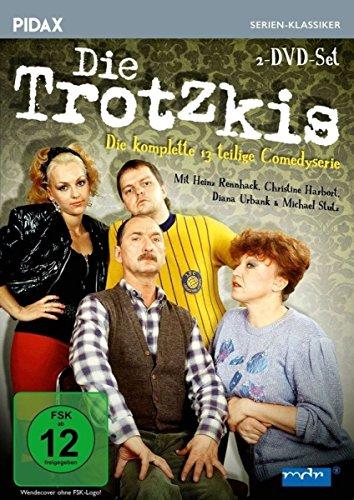 DVD - Die Trotzkis - Die komplette 13-teilige Comedyserie (Pidax Serien-Klassiker)