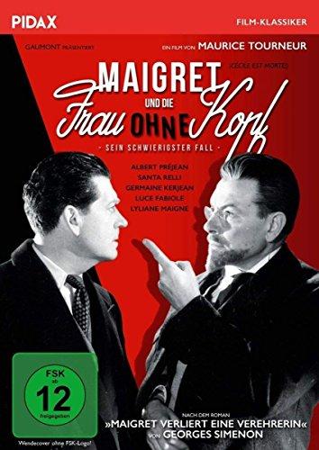 DVD - Maigret und die Frau ohne Kopf - Sein schwierigster Fall (PIDAX Film-Klassiker)