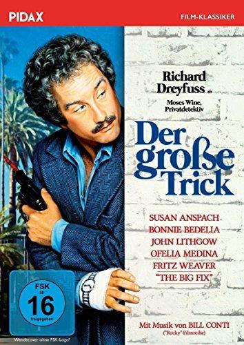 DVD - Der große Trick (The Big Fix) / Kult-Krimikomödie mit Richard Dreyfuss als Privatdetektiv Moses Wine (Pidax Film-Klassiker)