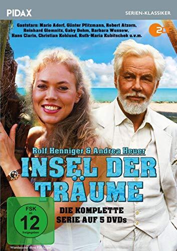 DVD - Insel der Träume / Die komplette 21-teilige Kultserie mit Starbesetzung (Pidax Serien-Klassiker) [5 DVDs]