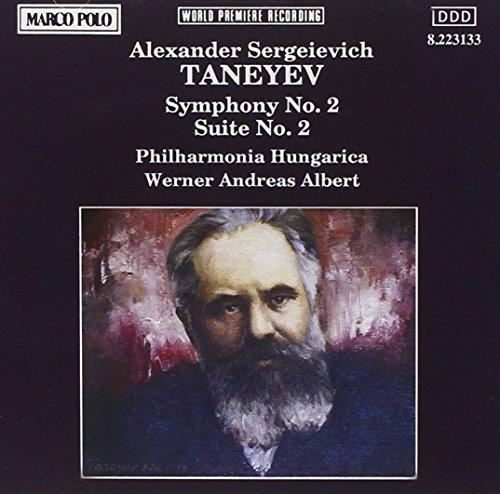 Taneyev , Alexander Sergeievich - Symphony No. 2 / Suite No. 2 (Albert)
