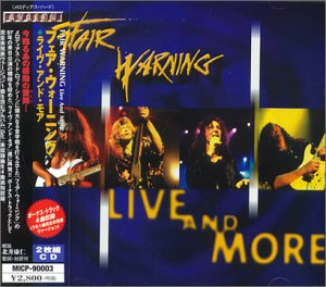 Fear Warning - Live and More (JP Import)