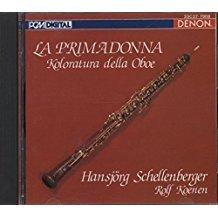 Schellenberger , Hansjörg - La Primadonna - Koloraura Della Oboe (Koenen)