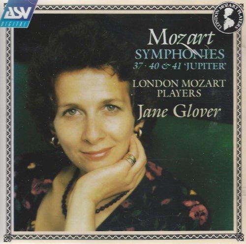 Mozart , Wolfgang Amadeus - Symphonies Nos. 37, 40 & 41 Jupiter (Glover)