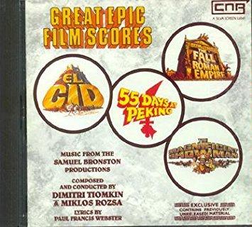 Tiomkin , Dimitri & Rozsa , Miklos - Great Epic Film Scores