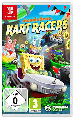 Nintendo Switch - Nickelodeon Kart Racers