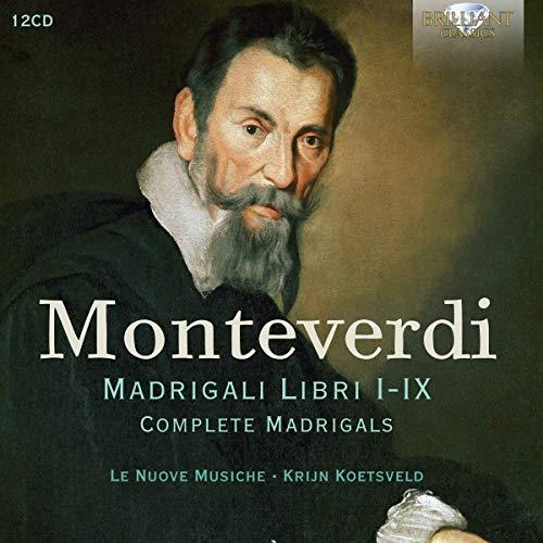 Monteverdi , Claudio - Madrigali Libri I-IX (Complete Madrigals) (Koetsveld) (12-CD BOX SET)