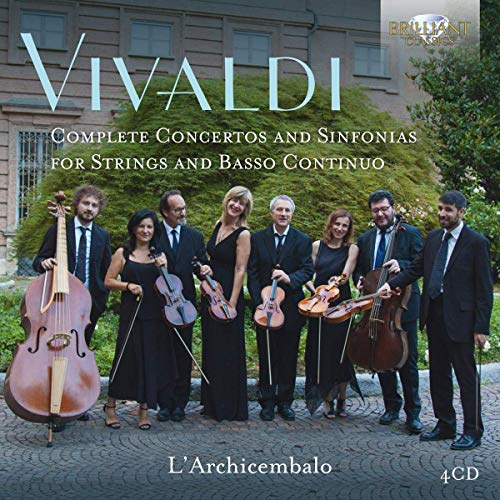 L'Archicembalo - Vivaldi:Complete Concertos and Sinfonias