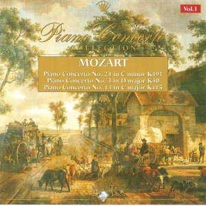 Mozart , Wolgang Amadeus - Piano Concertos Nos. 24, 3 & 13 No 1
