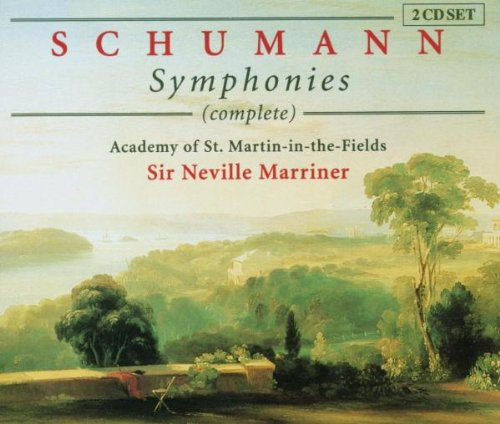 Schumann , Robert - Symphonies (Complete) (Marriner)