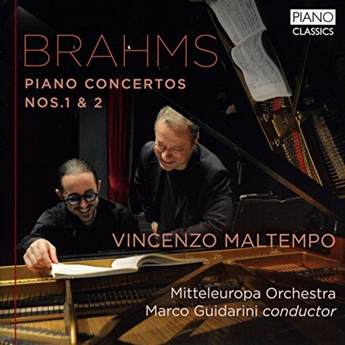 Brahms , Johannes - Piano Concerto Nos. 1 & 2 (Maltempo, Guidarini)