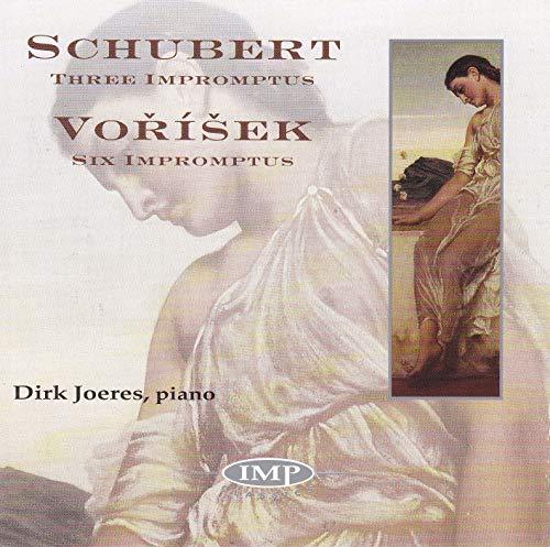Joeres , Dirk - Schubert: Three Impromptus / Vorisek: Six Impromptus