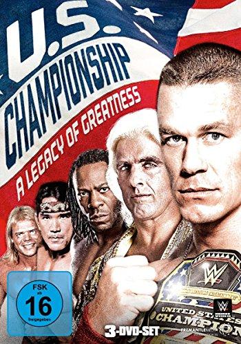 DVD - WWE - U.S. Championship - A Legacy Of Greatness (3-DVD-SET)