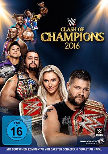 DVD - WWE - Clash Of Champions 2016