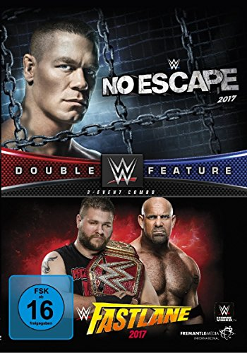 DVD - WWE - No Escape 2017 / Fastlane 2017 (Double Feature / 2-Event-Combo)