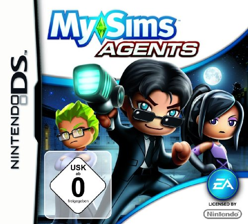 Nintendo DS - MySims Agents