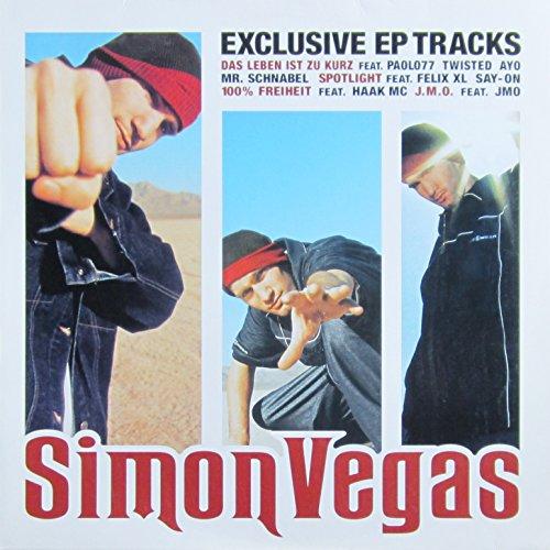 Vegas , Simon - Exclusive EP Tracks (EP) (Vinyl)
