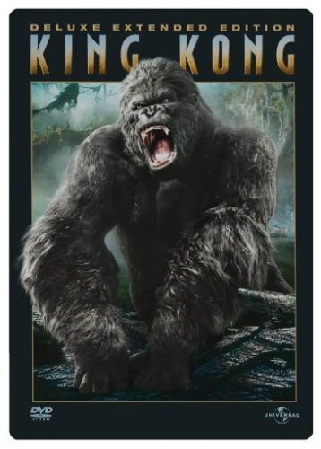 DVD - King Kong (Steelbook) (Deluxe Extended Edition)