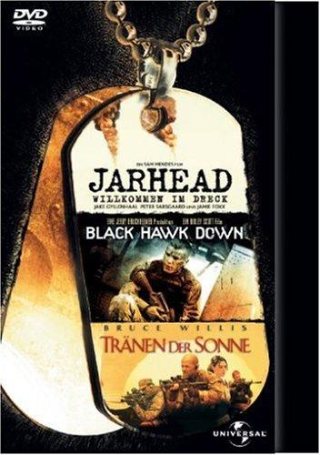 DVD - Jarhead / Black Hawk Down / Tränen der Sonne