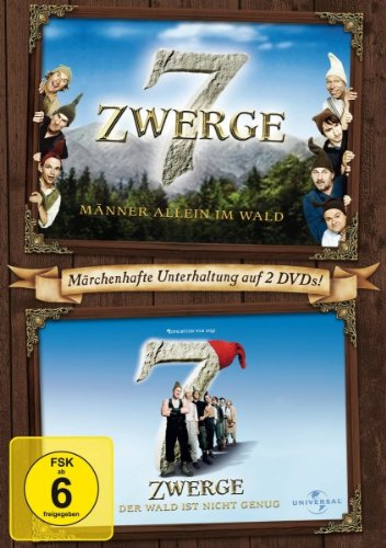 DVD - 7 Zwerge - Männer allein im Wald / 7 Zwerge - Der Wald ist nicht genug [2 DVDs]