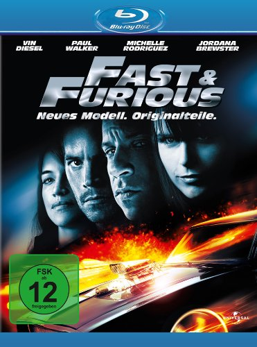 Blu-ray - Fast and Furious 4 - Neues Model. Originalteile.