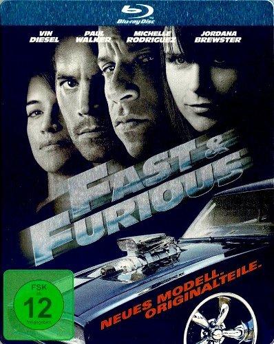 Blu-ray - Fast and Furious 4 - Neues Model. Originalteile: (Steelbook Edition)