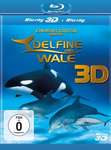 Blu-ray - Delfine und Wale 3D (  Blu-ray)