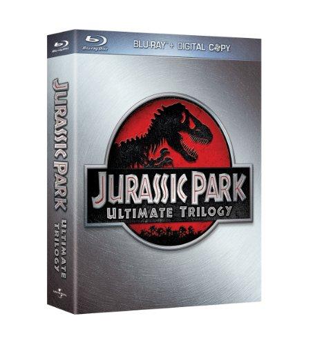 Blu-ray - Jurassic Park Ultimate Trilogy (Limitierte Edition im Schuber)
