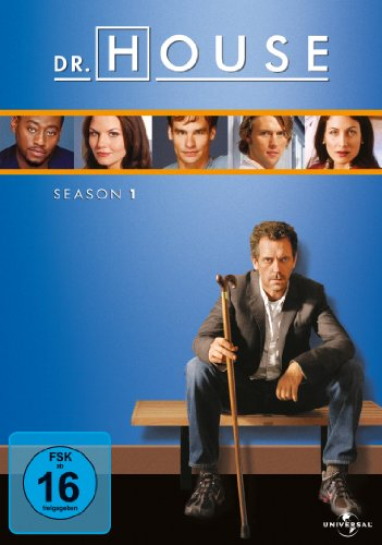DVD - Dr. House - Staffel 1 (Neuauflage)