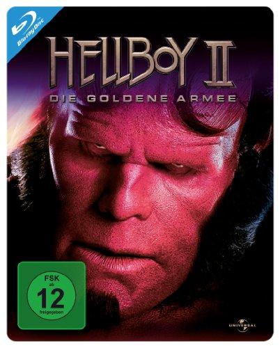 Blu-ray - Hellboy 2 - Die goldene Armee (Steelbook Edition)