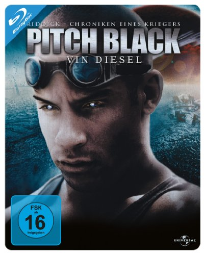 Blu-ray - Pitch Black (Riddick - Chroniken eines Kriegers) (Steelbook Edition)