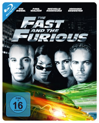 Blu-ray - The Fast And The Furious (Steelbook Edition)