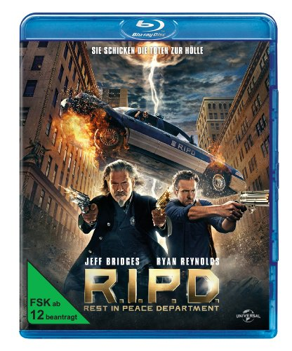 Blu-ray - R.I.P.D. - Rest In Peace Department
