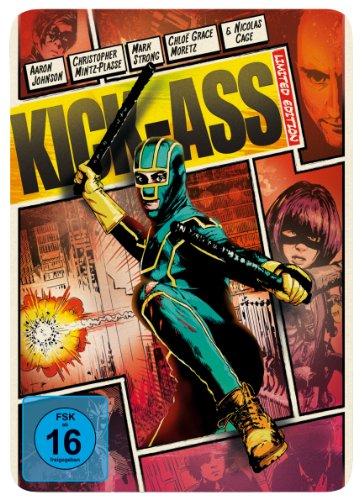 Blu-ray - Kick-Ass (Limited Steelbook Edition)