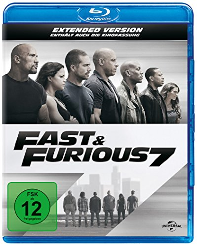 Blu-ray - Fast & Furious 7 (Extended Version)